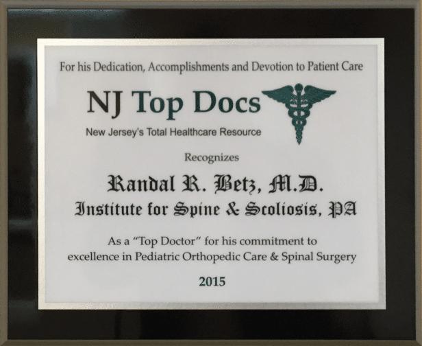 Dr. Randal R. Betz, MD 1