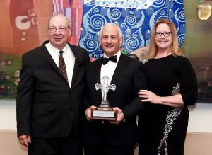 Drs. ABC Receiving Award with Dr. Antonacci